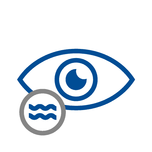 Watery eye icon