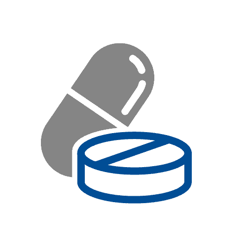 Oral medication icon