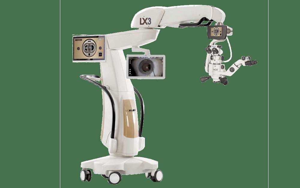 Professional eye machine